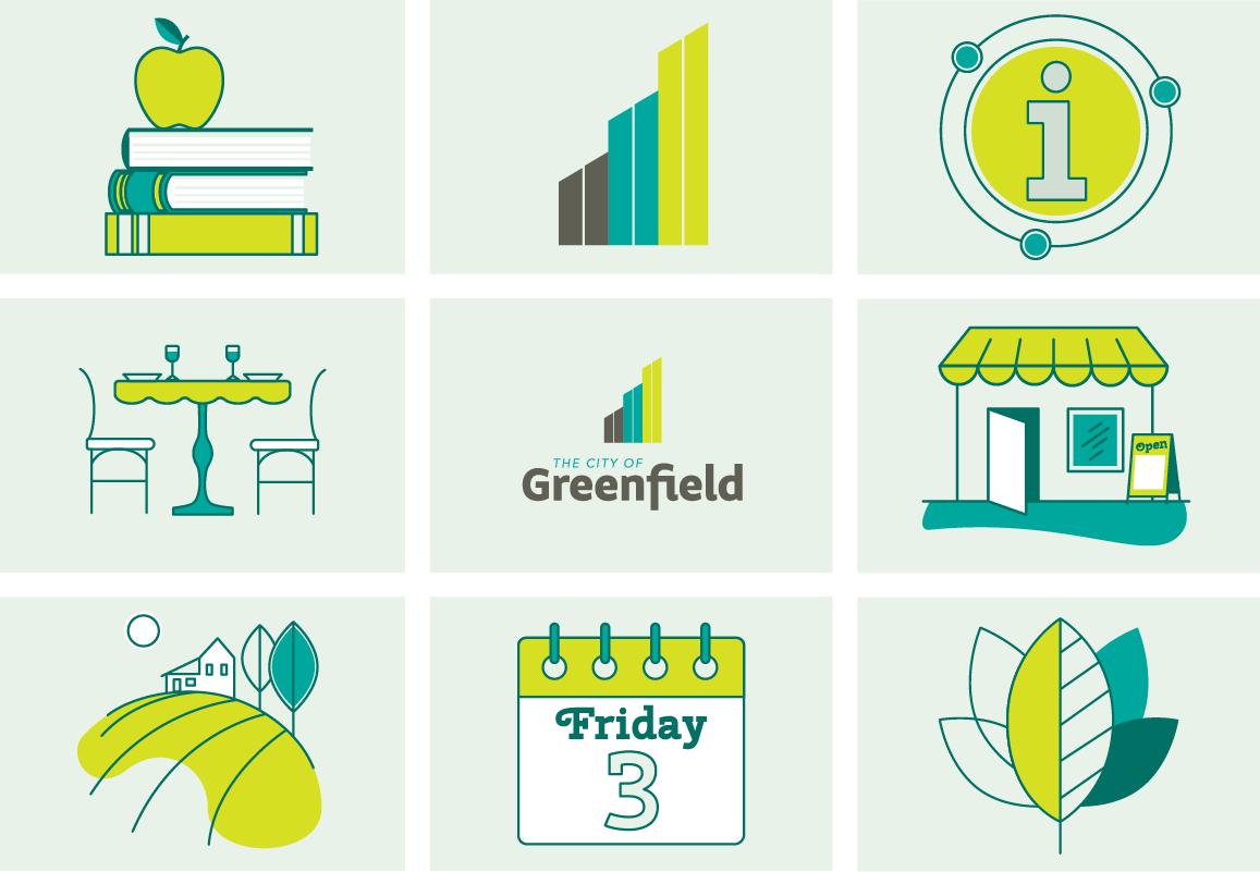 Greenfield Branded Icons