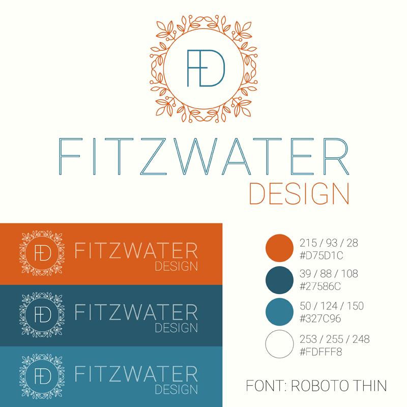 Fitzwater Design Branding Logo Design Indiana