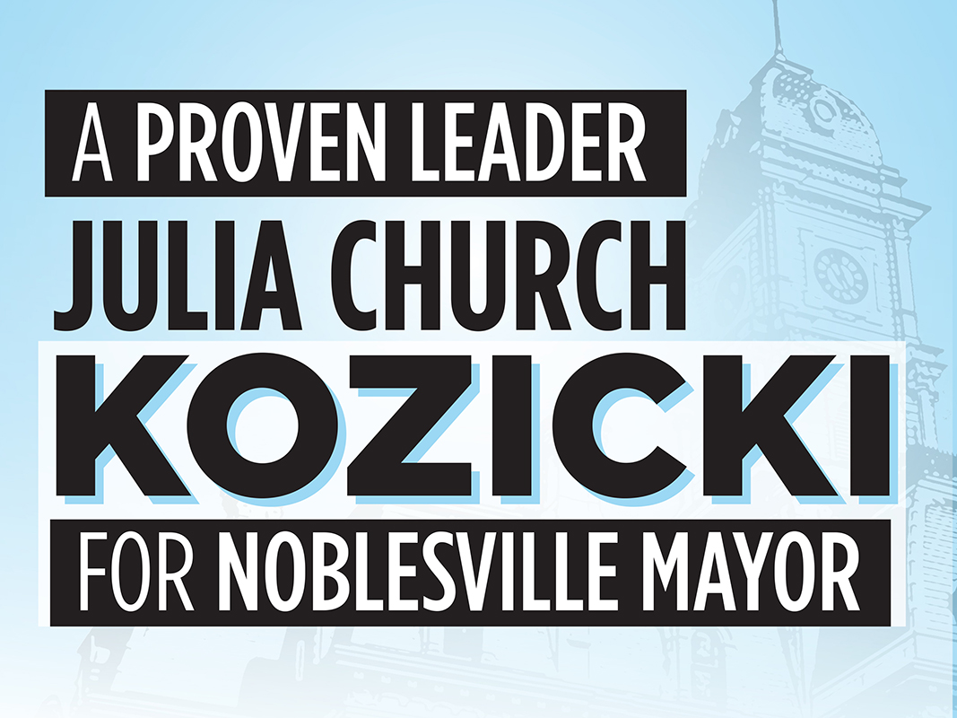 Kozicki Yard Sign